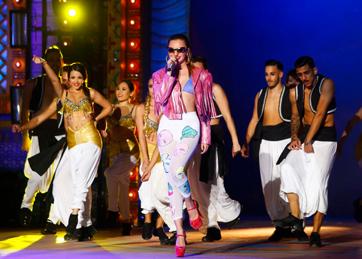 La música de Alexandra Stan hará bailar al público de la Gala Drag Queen